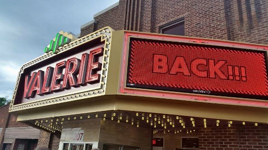 Valerie Theatre is Back!