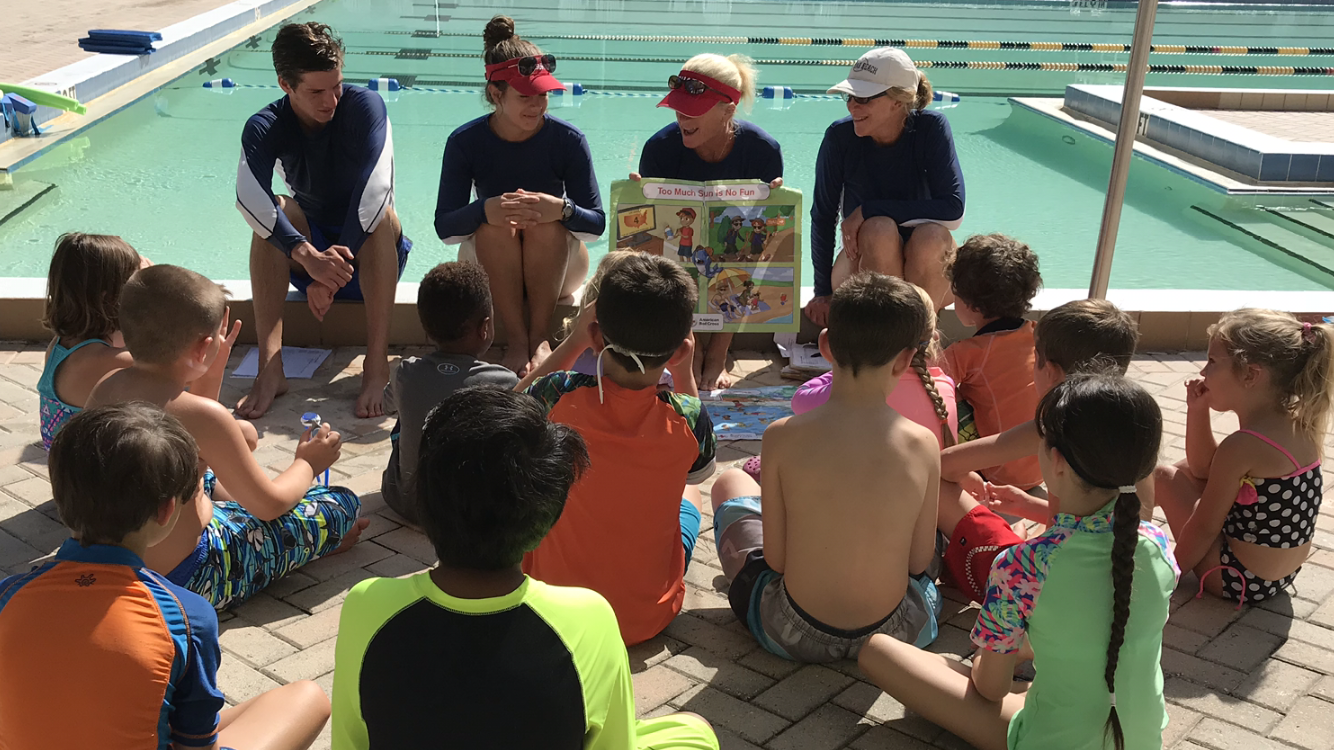 Swimming Classes at Whispering Pines City Park Pool