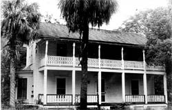 Francis M. Dampier House (Photo courtesy of Citrus County Historical Society)