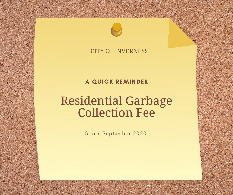 Residential Garbage Collection Fee