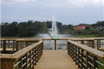 Cooter Pond fountain.JPG