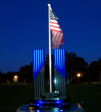 Memorial at Night